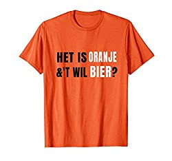 T-Shirt Königs Tagesholland-Geschenk Vintages ORANGE T-Shirt