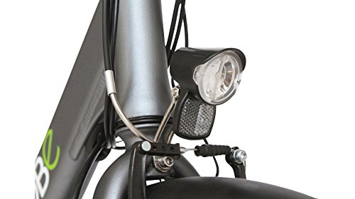 LLOBE E-Bike City Damen Noir, 28 Zoll
