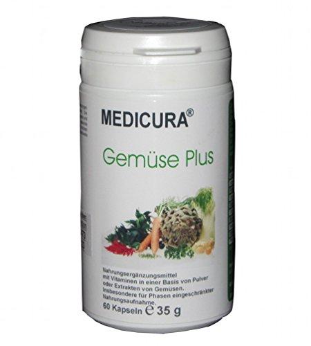 Gemüse Kapseln (Medicura Gemüse Plus 60 Kapseln - 35 g)