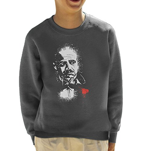 The Godfather The Offer Don Vito Corleone Kid's Sweatshirt (James Programm Caan Das)