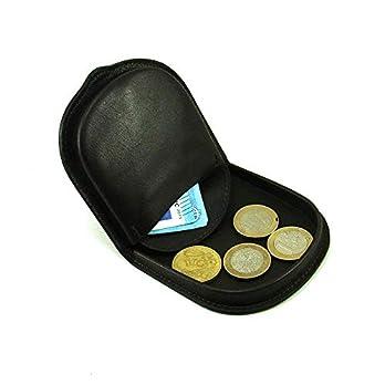 Ledergeldbörse (runde Ferse), Unisex, Handgefertigt, Marke Casanova, Rindsleder, Ref. 10016 Braun