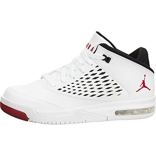 921201 101|Nike Air Jordan Flight Origin 4 (GS) Sneaker Weiss|36.5 (Schuhe Nike Jordan Flight)