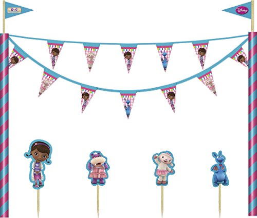 DECORATA Tortendeko Set Doc McStuffins