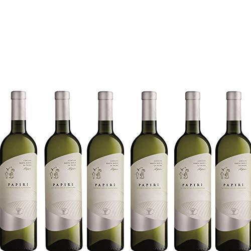 6 bottiglie per 0,75l -I PAPIRI VERMENTINO DI SARDEGNA DOC