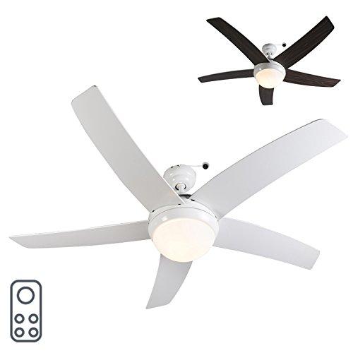 QAZQA Moderne Ventilateur...