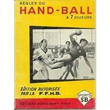 Règles du handball à 7 joueurs