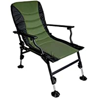 LIQICAI Army Green Portable Folding Carp Fishing Chair Accessoires de pêche Garden Patio Beach Chair Outdoor