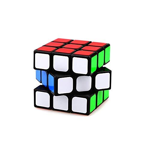 YXHUI El Cubo de Rubik, Dos Colores del Cubo de Rubik, Use un Estilo de diseño Suave y cómodo, Seguro y Respetuoso con el Medio Ambiente, Puede usarse como Regalo (Tercer Pedido) Good Mood, Good Life