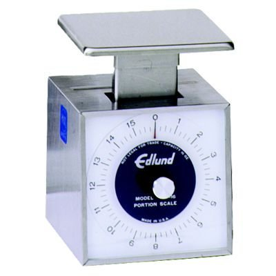 Edlund SS-16 Compact Fixed Dial Mechanical 1 lb Portion Scale by Edlund Fixed Dial