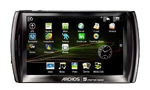 """Archos 5 Internet Tablet HD 720p Ecran tactile 5"""" 720p Internet / GPS / TV Numérique 16 Go"""