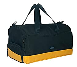 Protecta Alpha Gym & Travel Duffel (Black & Yellow)