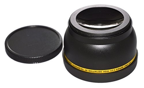 52mm High Definition Telephoto Lens for Nikon AF-S DX Nikkor 18-55mm f/3.5-5.6G VR II 2.2x Ultra High Power Telephoto Converter 52 mm Threaded AF  available at amazon for Rs.2649