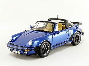 Norev® NV187663 1:18 1987 Porsche 911 Turbo Targa Metálico, Azul