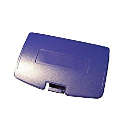 Ostent Battery Door Cover Repair Replacement Compatible For Nintendo Gameboy Color Gbc Console - Color Purple