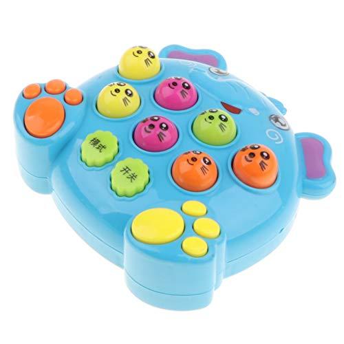 F Fityle Plastik Whack a Mole Maulwurf Brettspiel Hammerspiel für Kinder ab 3 Jahre Alt (Handheld-brettspiele)