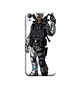 EPICCASE Premium Printed Mobile Back Case Cover With Full protection For HTC Desire 820 (Designer Case)