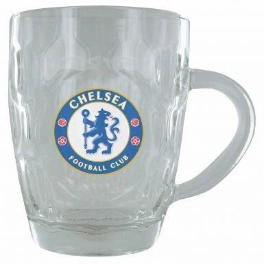 Chelsea FC Pint Glas mit Vertiefung