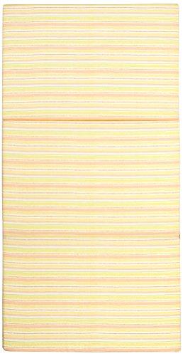 Julius Zöllner 7140160300 Reisebettmatratze 60x120 cm, klappbar - Streifen orange (- Orange-streifen Leichte)