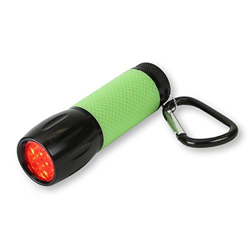 Carson RedSight Pro Linterna con Luz LED Roja (2 Configuraciones de Brillo)