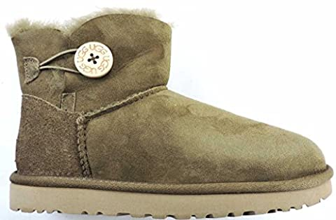 UGG Australia Mini Bailey Button Stiefel Women dry leaf - 39