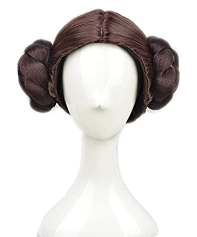 Lady Star Wars Costumes - Halloween Costume Fashion Princess Leia Cosplay Perruque