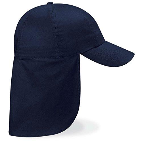 Beechfield Headwear - Casquette Baseball B11b Junior Bleu Marine