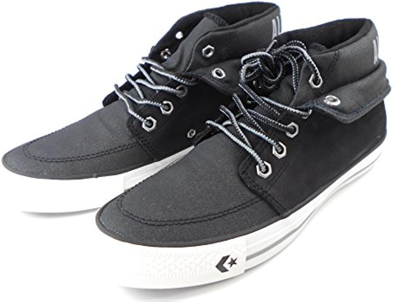 Converse Chucks Star Desert MID Sneaker Herren Turnschuhe schwarz Leder 135832 C