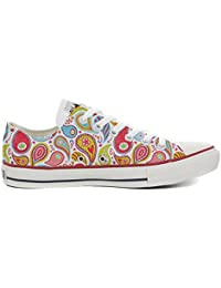 Converse All Star Chaussures Coutume (produit artisanal) Power Paisley