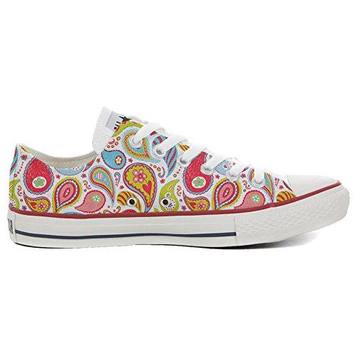 Converse All Star Slim Chaussures Coutume Mixte Adulte (Produit Artisanal) Power Paisley