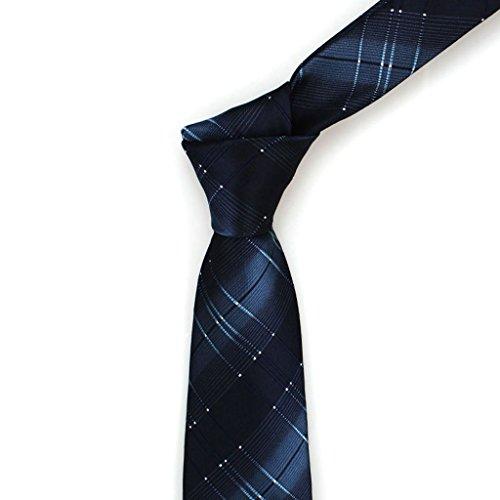 Cuiping- Fashion Casual Krawatte Männer Kleid Business 8cm Elegante tibetischen Check Tie