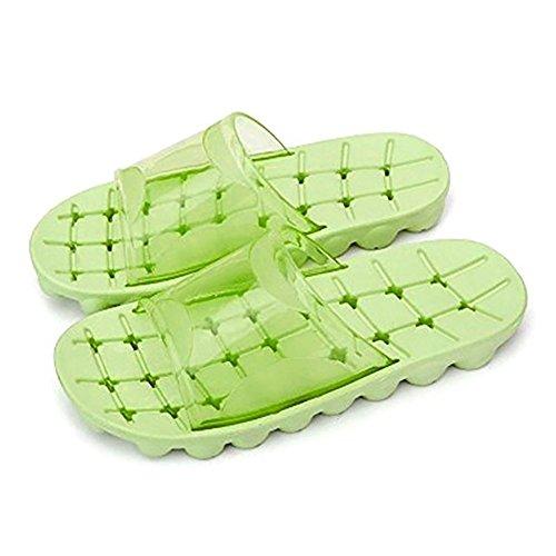 Auspicious beginning Adulti doccia confortevole antiscivolo pantofole sandali della spiaggia piscina N6s5caVXAG