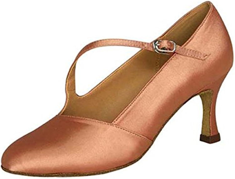 YFF Regalo Donne Danza Scarpe Ballo Latino Ballo Tango Danza Scarpe 7CM | Del Nuovo Di Stile  | Uomini/Donna Scarpa
