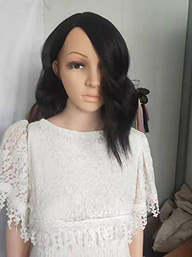 Kostüm Typ Nerd - Unbekannt Perücke Kurze Rolle Lady Haar Hochtemperatur Seide Chemische Faser Kopf Set 30cm Bildfarbe