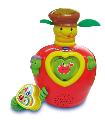 VTech Baby 80-142704 - Überraschungsapfel