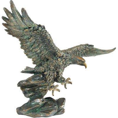 Design Toscano QL134312 Victory's Eagle Sieg des Adlers Skulptur von Samuel Lightfoot von Design Toscano bei Du und dein Garten
