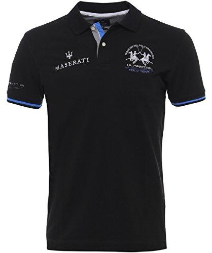 la-martina-hombres-camisa-de-polo-slim-fit-oberon-negro-l