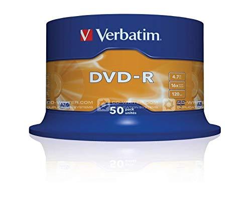 DVD-R Verbatim 4,7GB 50pcs Spin.SR SIL. 16x