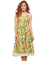 a25663bcab04 Joe Browns Femme Robe croisée à imprimé Fruits