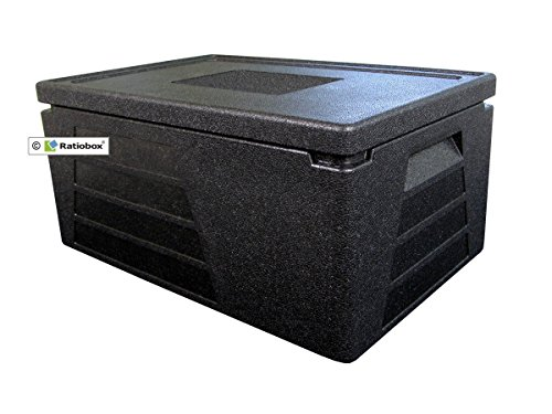 Profi Thermobox groß GN 1/1 mit 230mm Nutzhöhe, Thermobehälter, Isolierbox