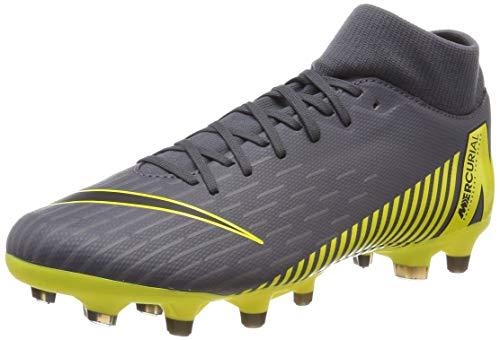 Nike Unisex-Erwachsene Superfly 6 Academy MG Fußballschuhe, Grau Black/Dark Grey 070, 46 EU (Schuhe Fußball Superfly Nike)