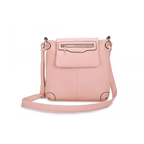 Craze London, Borsa a tracolla donna Small Pink