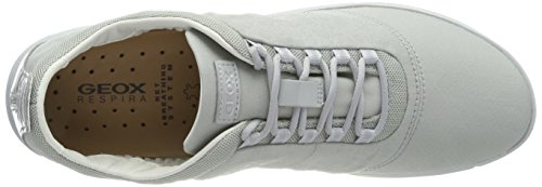 Geox Damen D Nebula A Sneaker Grau (Azure)
