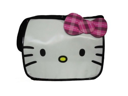 Hello Kitty Messenger Bag with pink strip bow by FAB