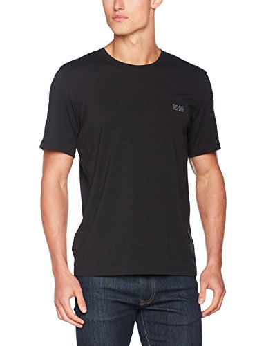 BOSS Hugo Boss Herren Mix & Match T-Shirt R Schwarz (Black 001)