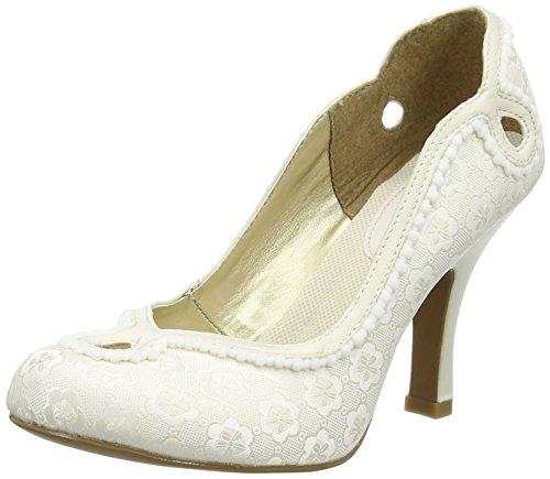 Ruby ShooMiley - Scarpe con Tacco donna Bianco (bianco grezzo (panna))