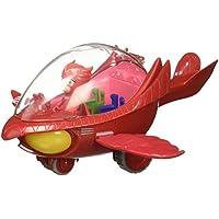 PJ Masks - Vehículo Deluxe, búho Delta y buhíta (Bandai 24622)