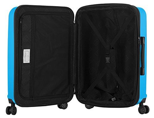 HAUPTSTADTKOFFER - X-Berg – Koffer Trolley Hartschale, TSA, 65 cm, 89 Liter, Cyanblau - 5