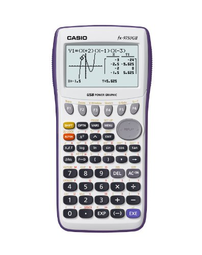 Casio FX-9750GII-WE Calculatrice