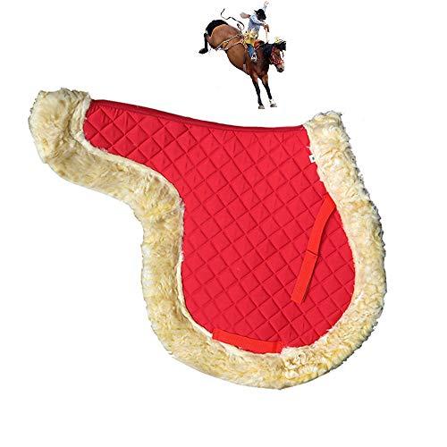 UTOPIAY Equitazione Sottosella, Sottosella con Fodera in Pile, Accessori per L'equitazione...