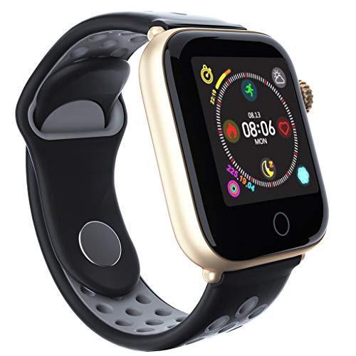 Haludock Stylish Bluetooth 4.0 Smart Watch Pulsmesser Sportmodus Smartwatch-Armband für Android IOS
